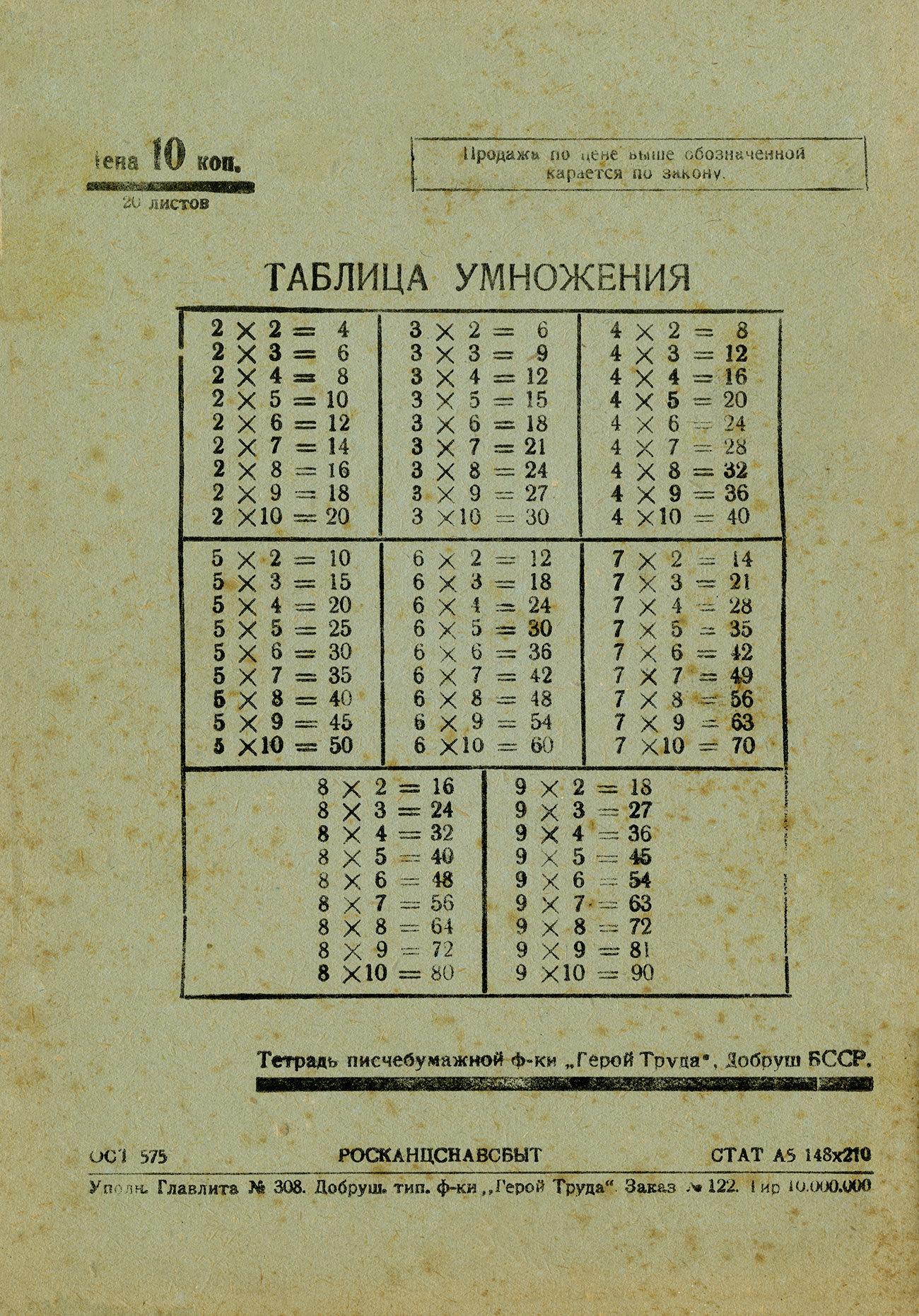 Ленин, 20 листов, 148х210, оборот
